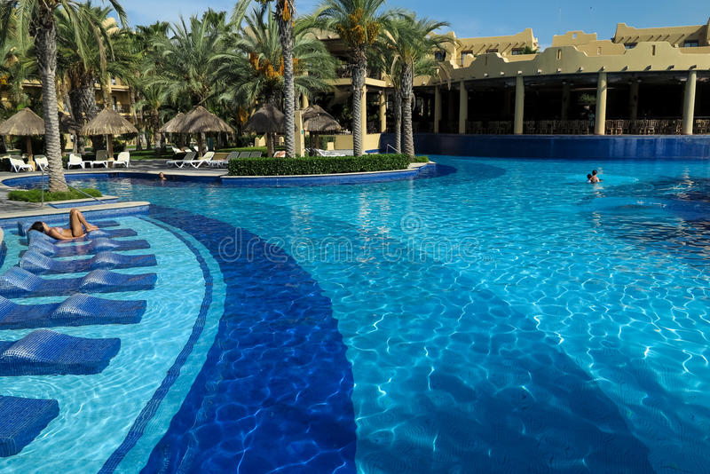 RIU Santa Fe Hotel in Cabo San Lucas, Mexico royalty-vrije stock foto's