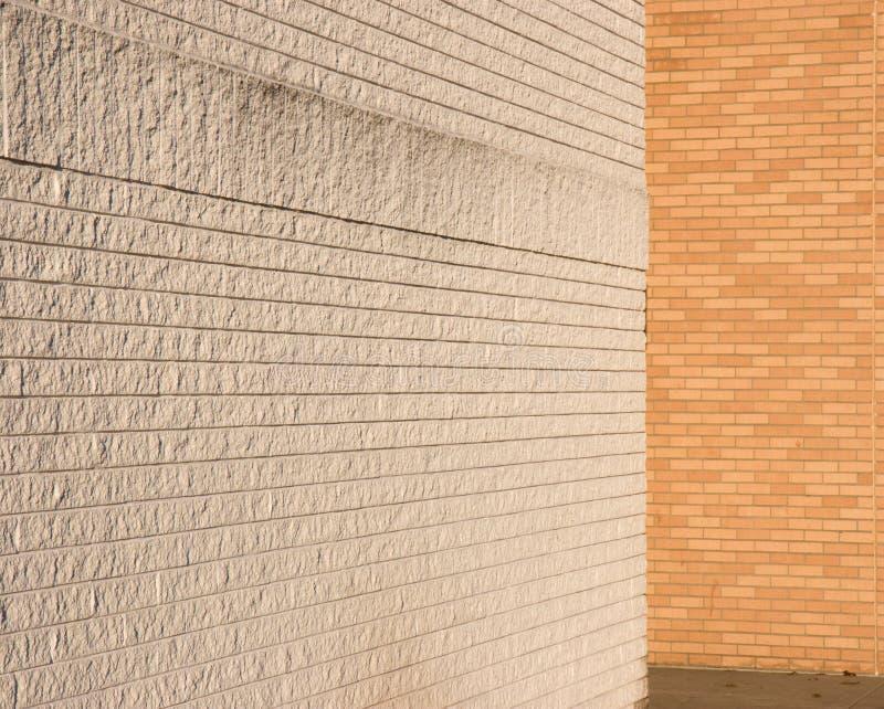 Riunione bianca e naturale dei mura di mattoni immagine stock libera da diritti