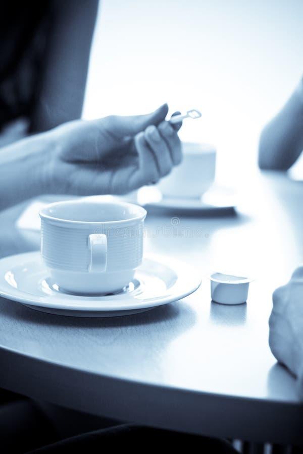 Riunione dell'intervallo per il caffè immagine stock libera da diritti