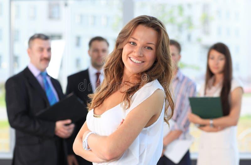 Riuscita donna di affari fotografie stock