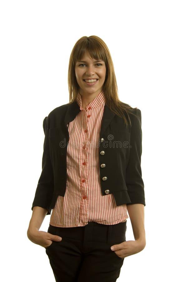 Riuscita donna di affari immagine stock