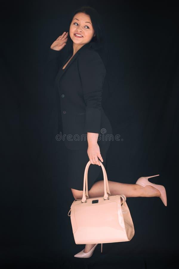 Riuscita donna di affari fotografia stock