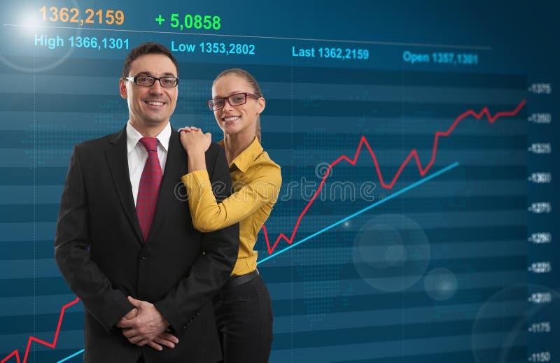 Riuscito investimento immagine stock libera da diritti