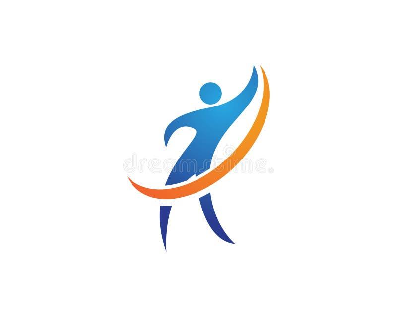 Download Riuscito logos della gente illustrazione vettoriale. Illustrazione di vincitore - 117978793