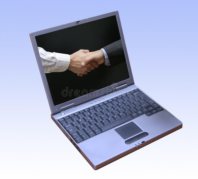 Riuscito software di gestione aziendale fotografie stock libere da diritti