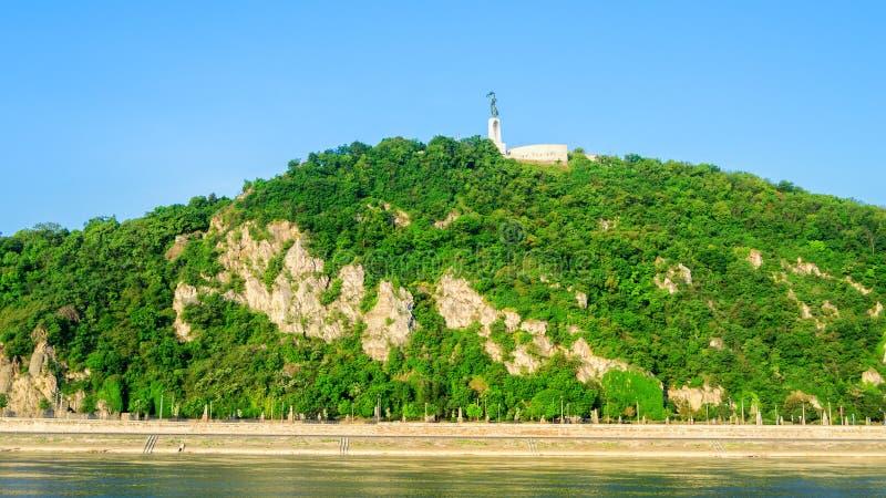 Riva del fiume Budapest - Ungheria fotografia stock libera da diritti