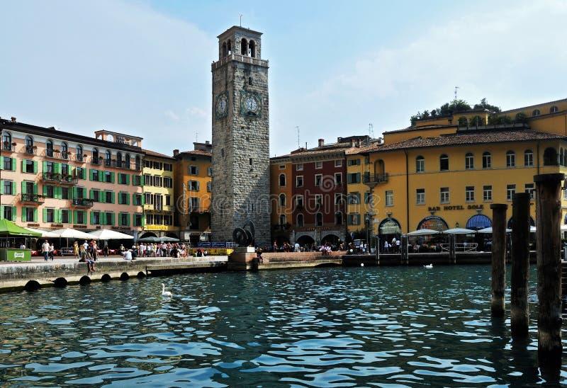 Riva del Garda foto de stock royalty free