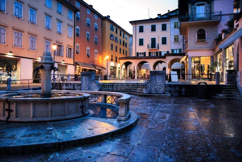 Riva del Garda fotografia stock libera da diritti