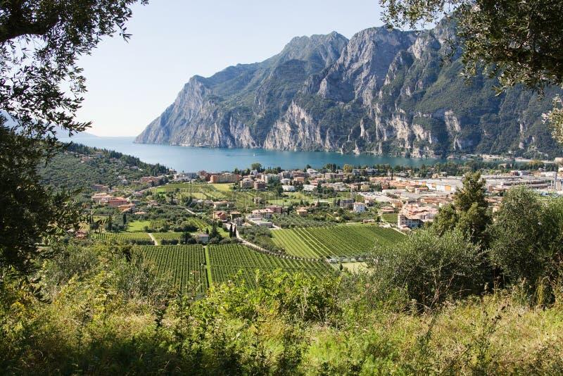 Riva del Garda, Italië stock afbeelding