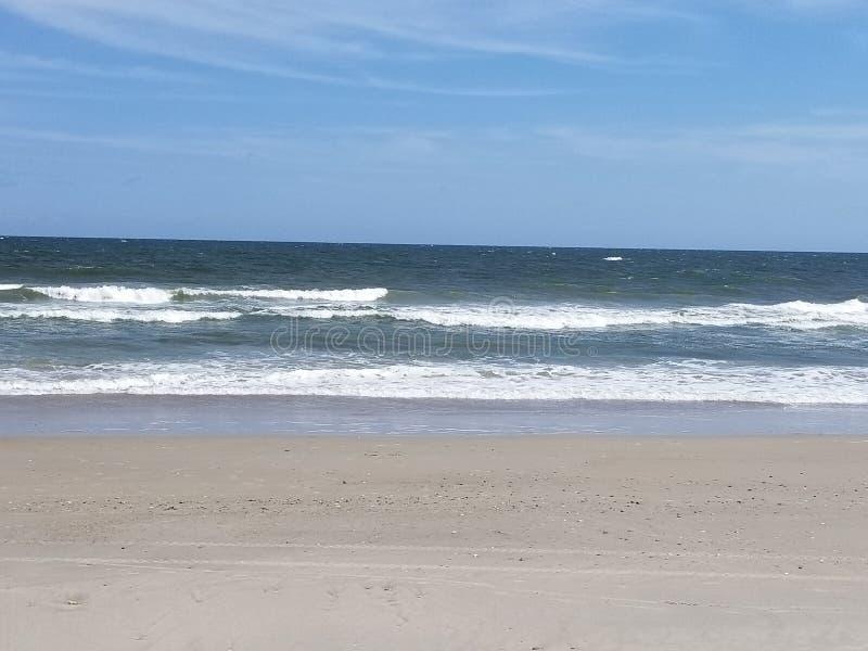 Riva l'Oceano Atlantico fotografie stock
