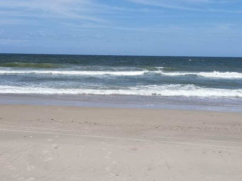 Riva l'Oceano Atlantico immagine stock