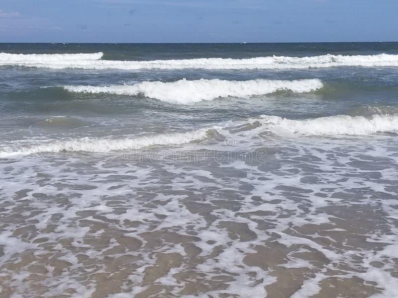 Riva l'Oceano Atlantico fotografia stock