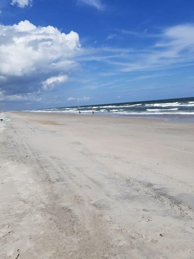 Riva l'Oceano Atlantico immagini stock libere da diritti