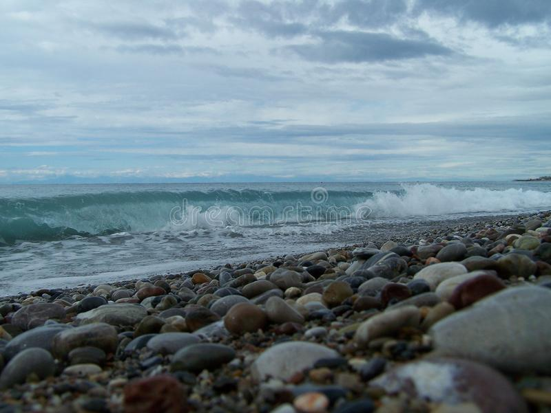 rivage photographie stock