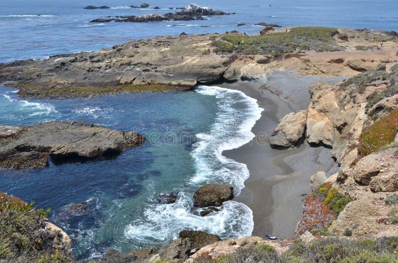 Rivage au point Lobos photographie stock