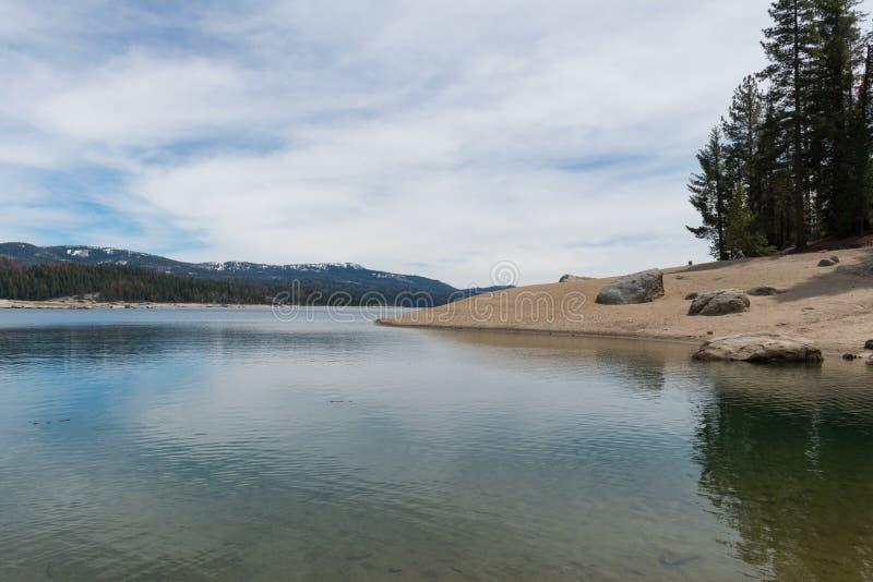Rivage de lac shaver image libre de droits