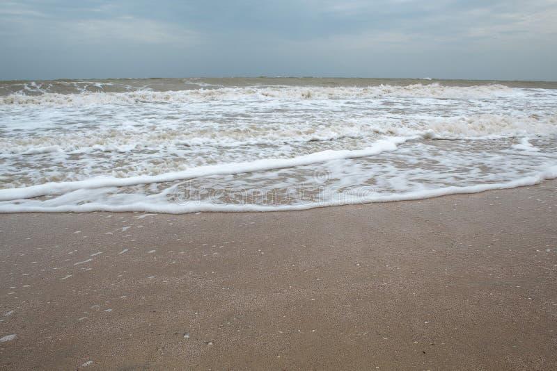 Rivage de mer Plage Mer d'Azov images stock
