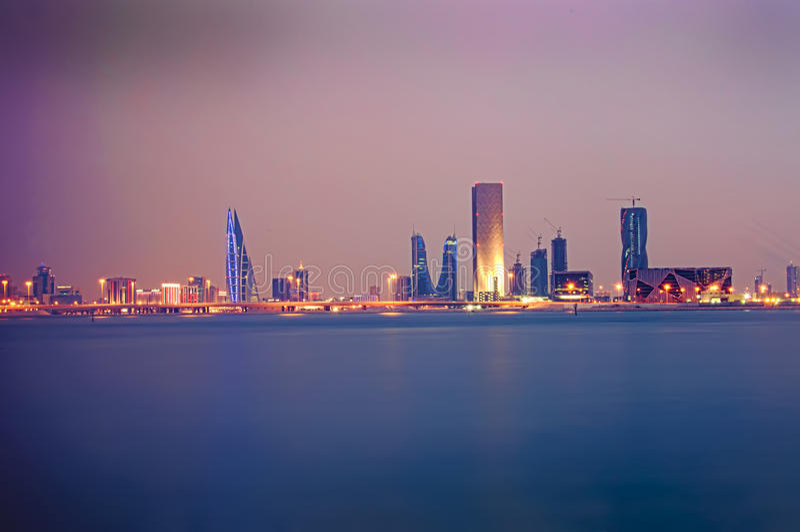 Rivage du Bahrain photos stock