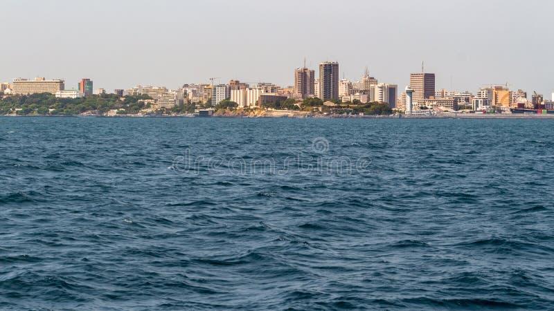 Rivages de Dakar photo libre de droits