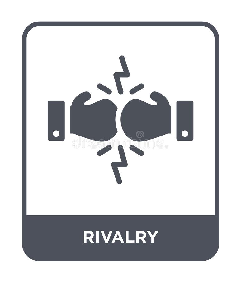 rivalry icon in trendy design style. rivalry icon isolated on white background. rivalry vector icon simple and modern flat symbol royalty free illustration