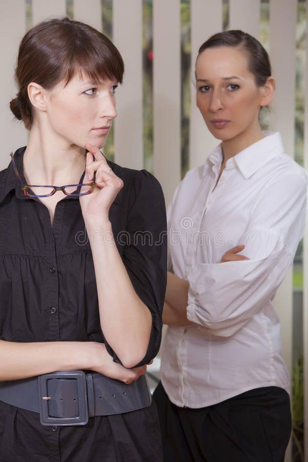 Free Rivalry In Office Royalty Free Stock Images - 14074949