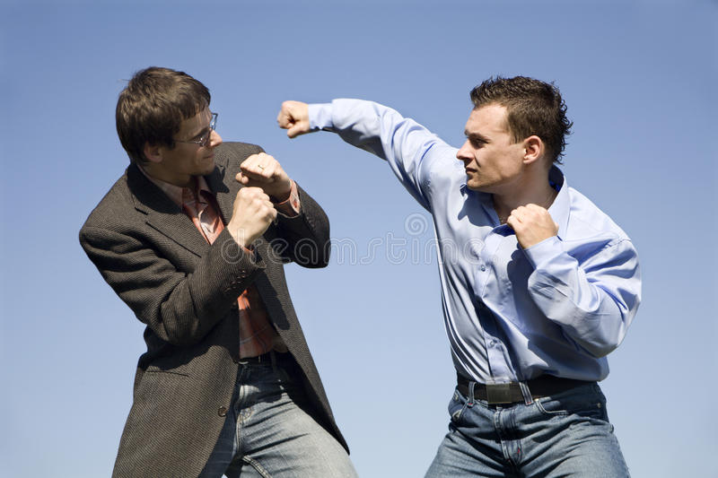Download Rivals stock photo. Image of competition, business, conflict - 9445236
