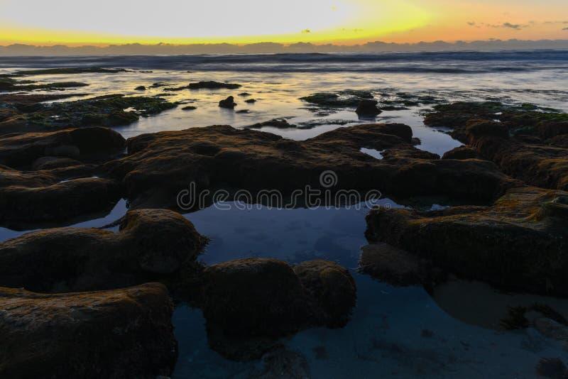 Rive di La Jolla - San Diego, California immagini stock libere da diritti