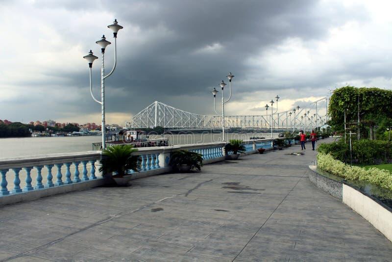 Rive du Gange images stock