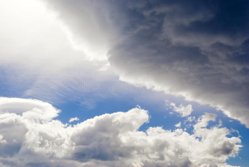 Riven Heavens Stock Image