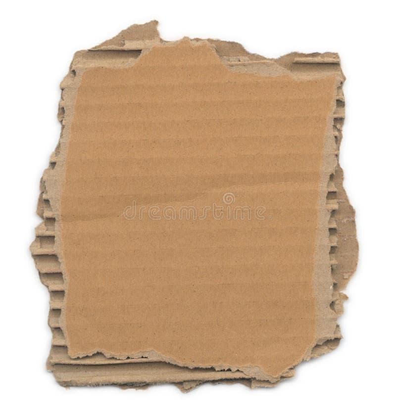 riven papp arkivbilder
