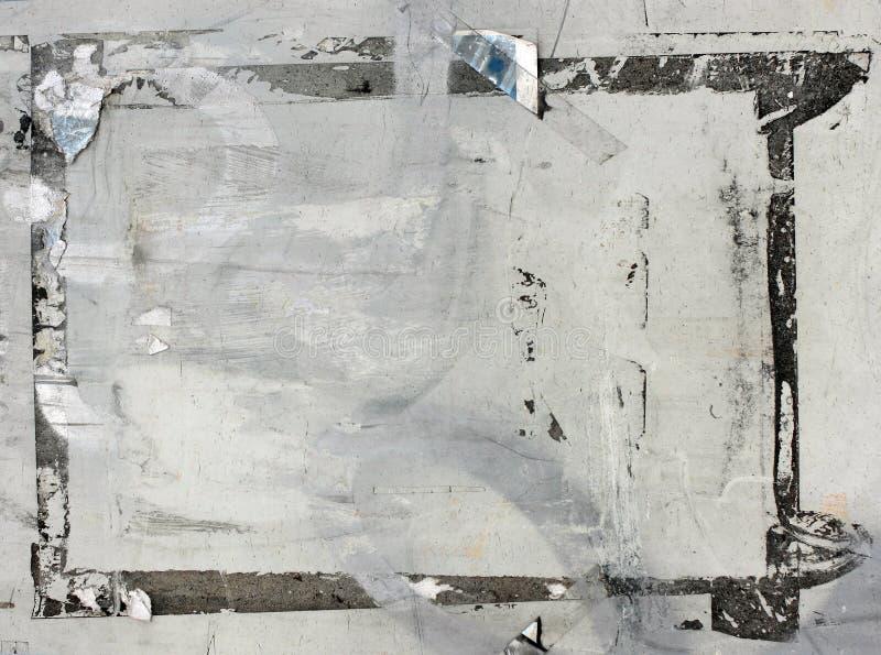 riven sönder bakgrundsgrungeaffisch fotografering för bildbyråer