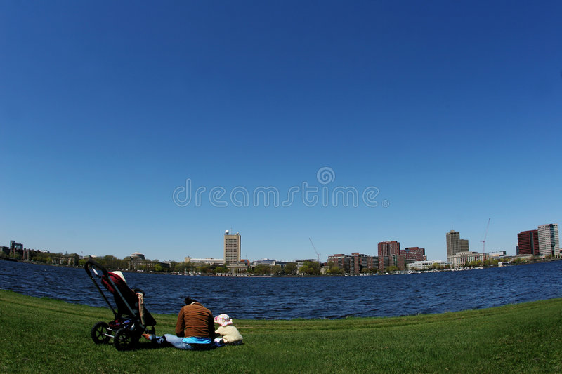 Download By the river stock photo. Image of boston, growth, alone - 116022