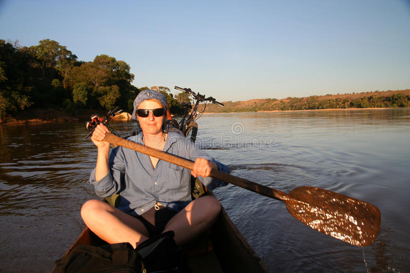 Download On the river stock image. Image of lifestyle, exercise - 17620079