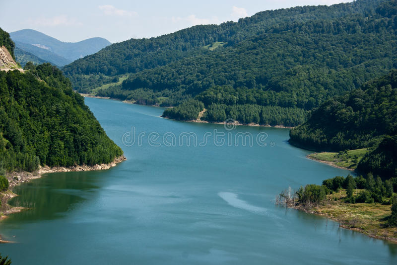 Download River stock image. Image of hill, area, above, architecture - 22917453