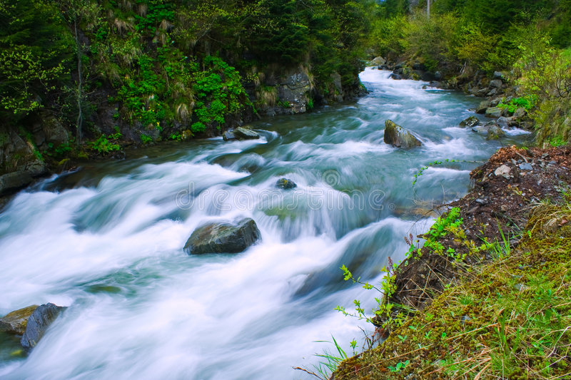 Download River stock image. Image of plant, free, lake, steep, flow - 5089767