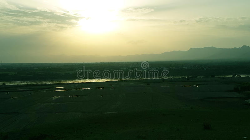 River Abatabad royalty free stock photo