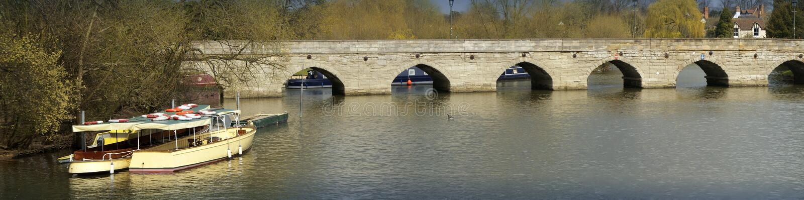 Download River avon stock image. Image of boats, ancient, warwickshire - 4817475