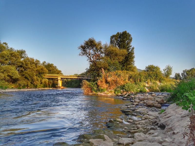 River royalty free stock photography