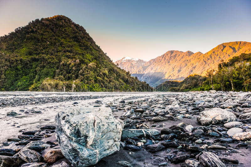 Download River bed stock photo. Image of forest, zealand, trickle - 40070672