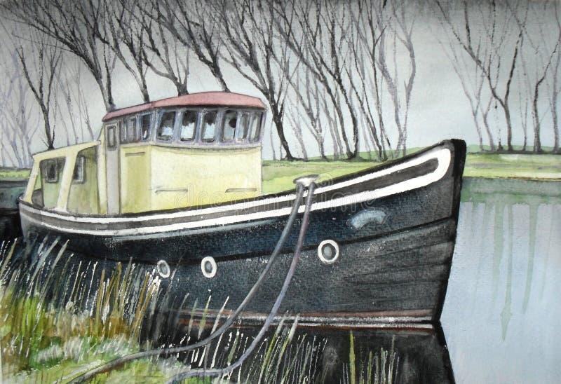 River boat royalty free stock photos