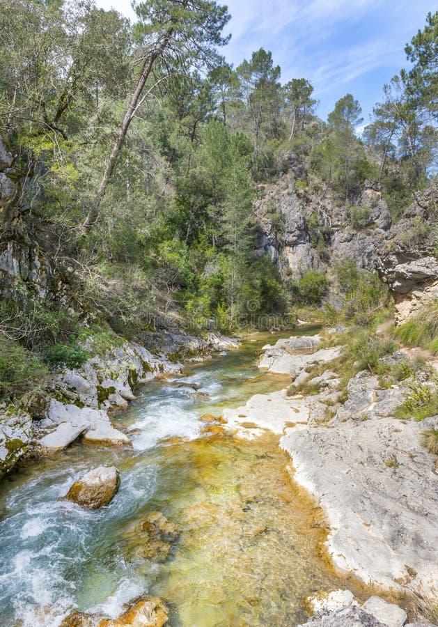 River Borosa Walking Trail in the Sierra Cazorla Mountains. River Borosa Walking Trail in the Sierra Cazorla Mountain Range, Jaen Province, Andalusia, Spain stock photography
