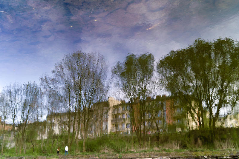 On the river Brda.
