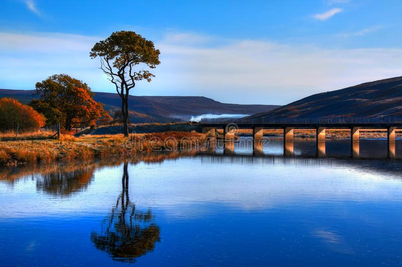 The River Brora at Balnacoil stock photo