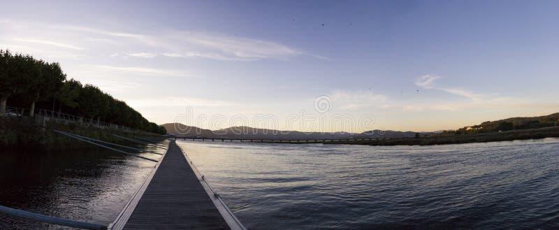 Côa river scenics, Caminha - Portugal royalty free stock photo
