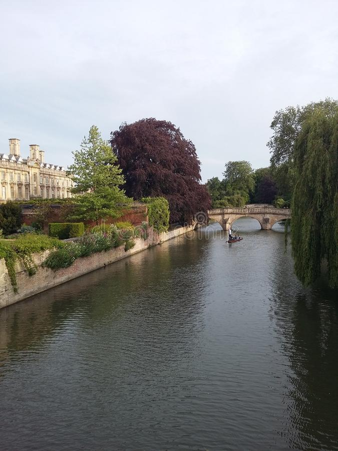 River in Cambridge stock images