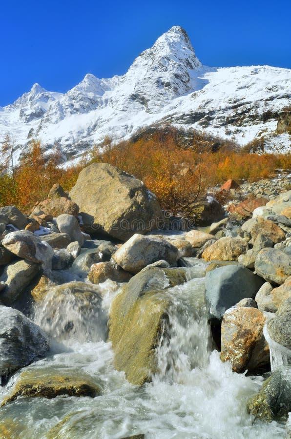 River in Caucasus stock images