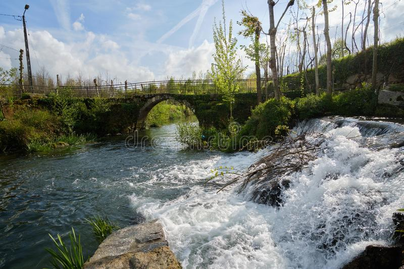 River, Cepaes Fafe royalty free stock image