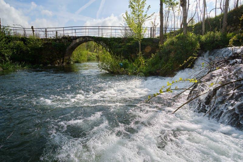 River, Cepaes Fafe stock image