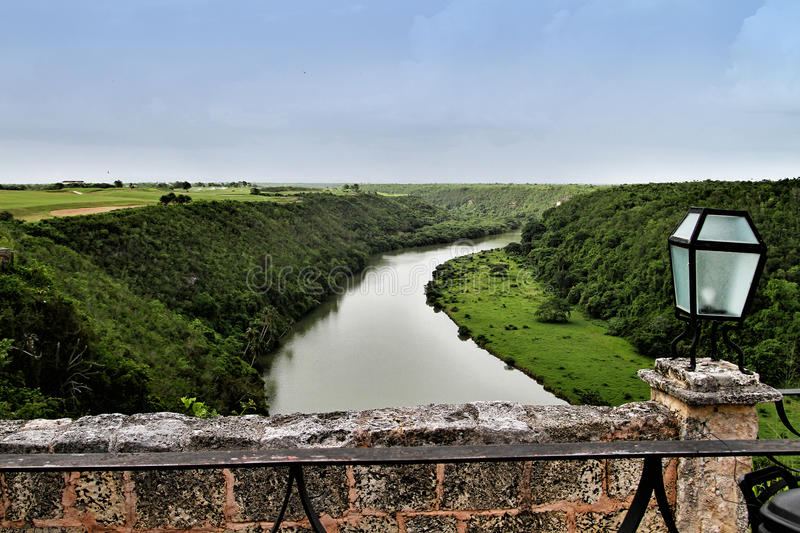 River Chavon in the Dominican Republic royalty free stock photo