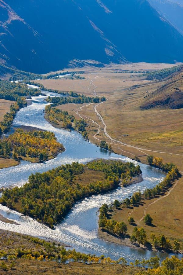 River Chulyshman stock photos